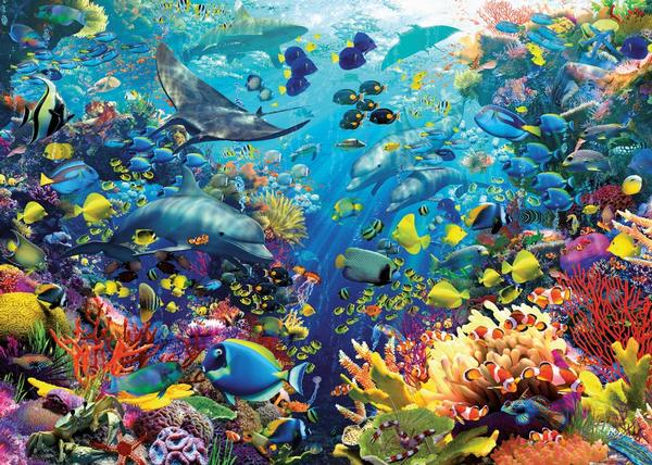 Underwater Paradise Under The Sea Jigsaw Puzzle
