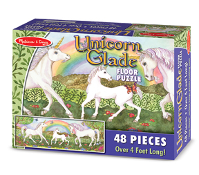 Unicorn Glade - Floor Fantasy Children's Puzzles