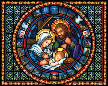 Holy Family Christmas Jigsaw Puzzle