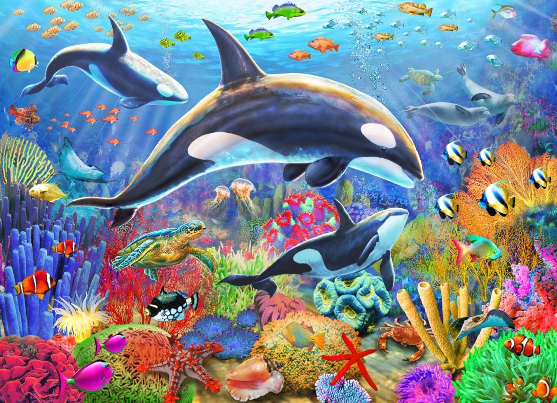 Orca Fun Under The Sea Jigsaw Puzzle