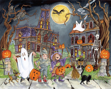 Little Goblins - Scratch and Dent Fall Jigsaw Puzzle