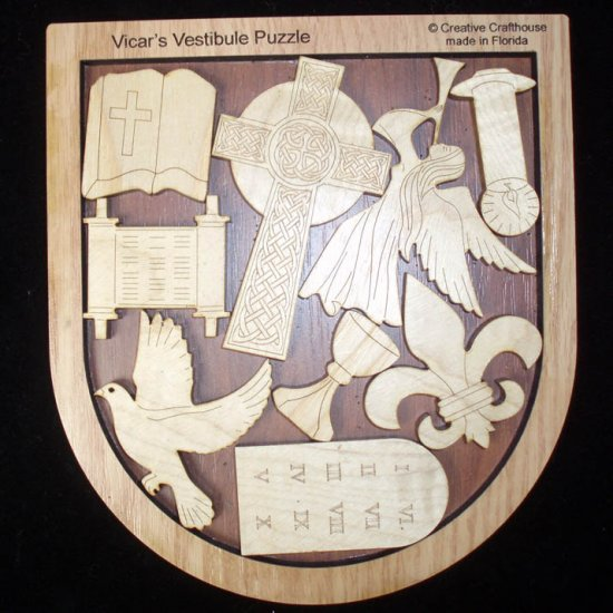 The Vicars Vestibule Puzzle Religious Brain Teaser