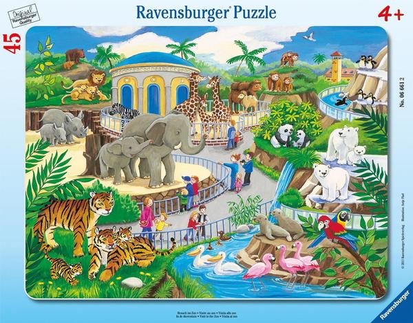 Visit to the Zoo Animals Jigsaw Puzzle