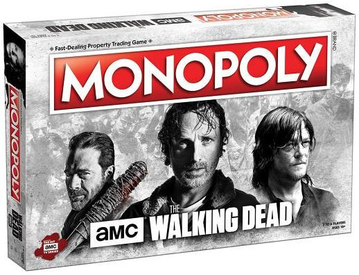The Walking Dead™ - AMC Monopoly