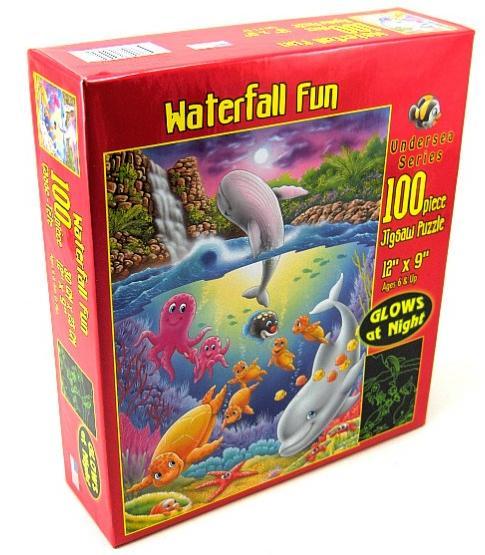 Waterfall Fun Marine Life Glow in the Dark