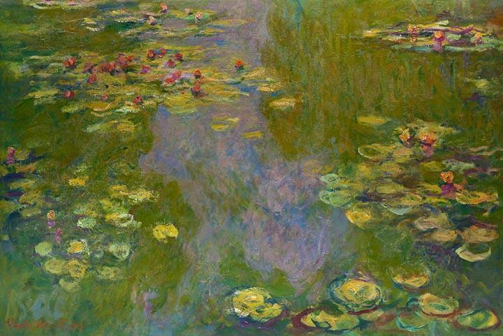 Waterlilies by Claude Monet Fine Art
