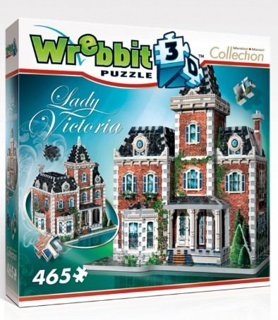 Victorian Cottage Everyday Objects 3D Puzzle