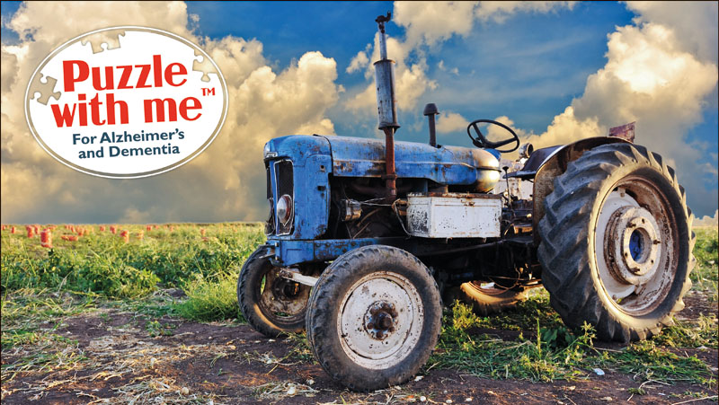 Country Life Vehicles Jigsaw Puzzle