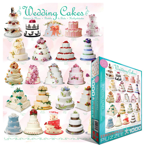 Wedding Cakes Food and Drink Jigsaw Puzzle