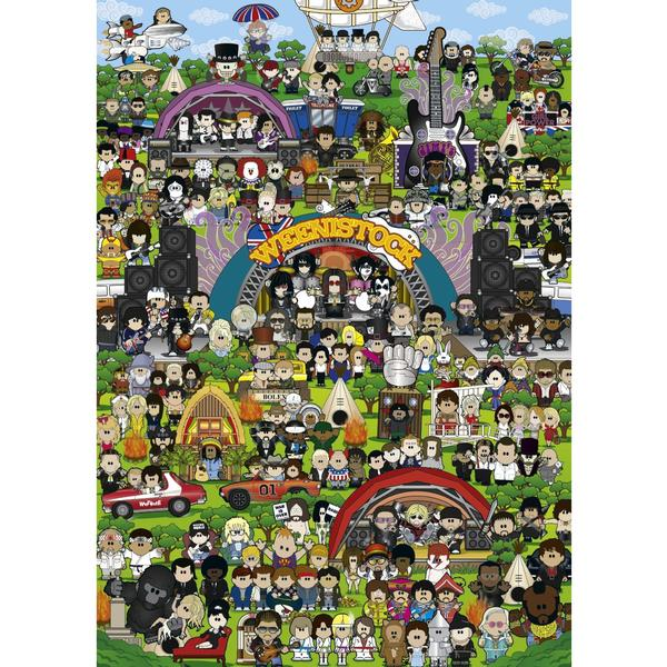 Weenicons, Weenistock Cartoons Jigsaw Puzzle