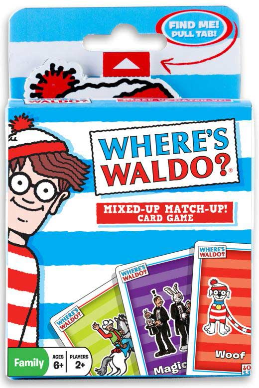 Where's Waldo? Mixed-Up Match-Up! Card Game