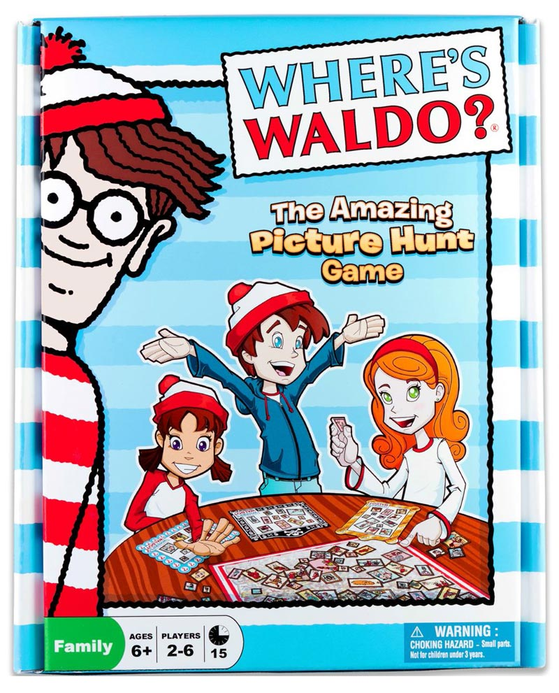 Where's Waldo? The Amazing Picture Hunt Board Game