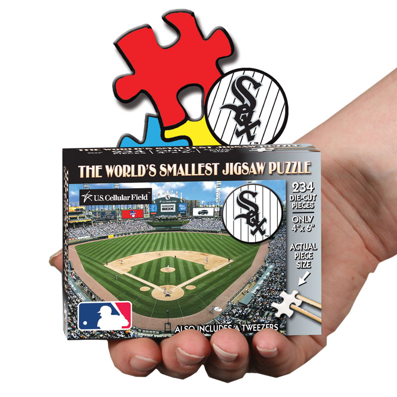 World's Smallest Puzzles MLB - Chicago White Sox Baseball Jigsaw Puzzle