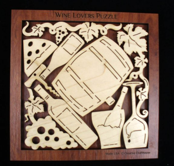 Wine Lovers Puzzle
