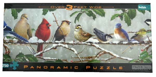 Winter Songbirds Birds Jigsaw Puzzle