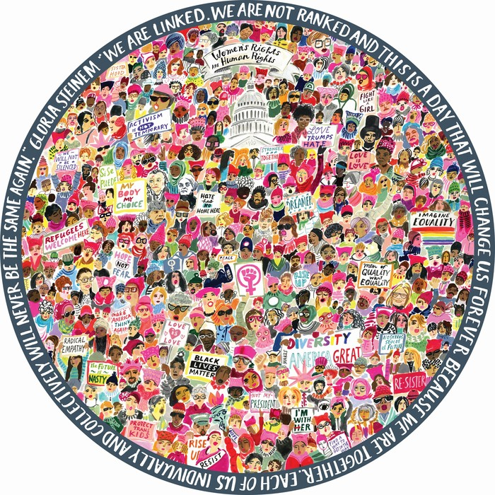 Women March! Inspirational Jigsaw Puzzle