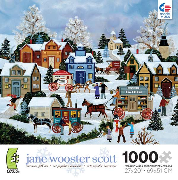 Wooster Scott - Cold Hands, Warm Hearts Jigsaw Puzzle