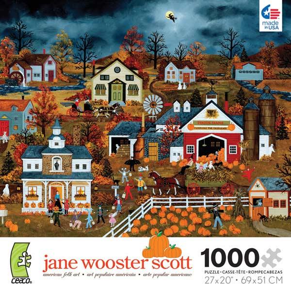 Wooster Scott - Halloween Adventures Jigsaw Puzzle