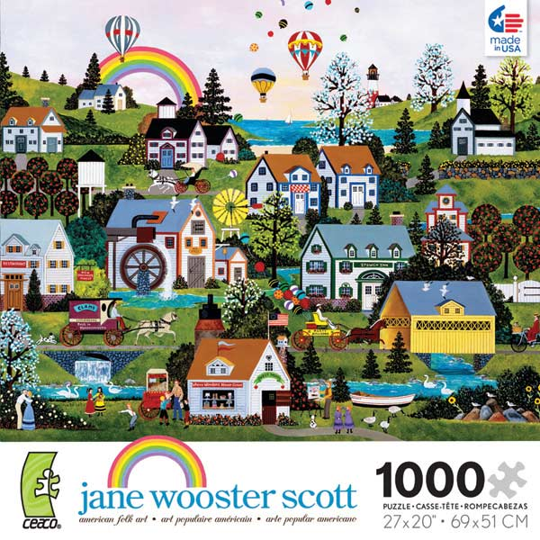 Wooster Scott - Somewhere Over the Rainbow Jigsaw Puzzle