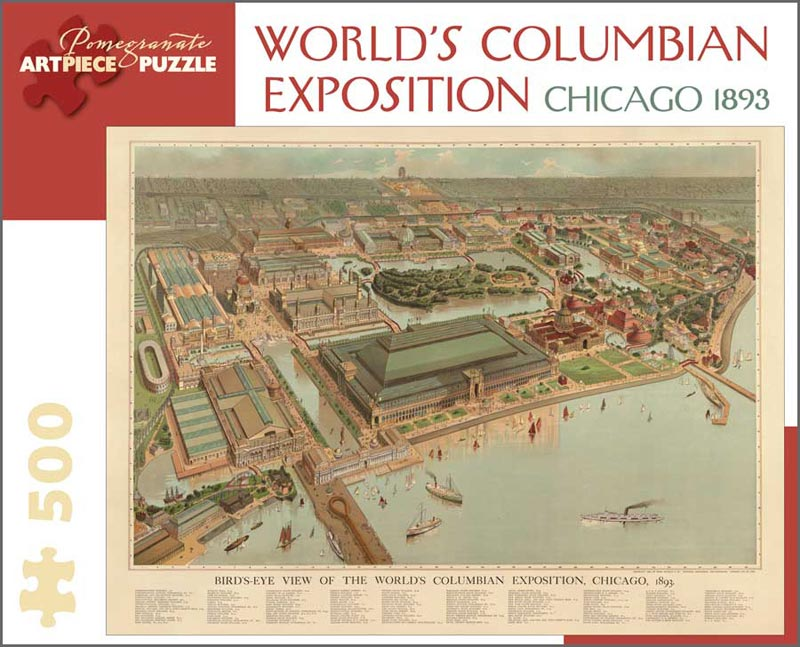 World's Columbian Exposition, Chicago 1893 Chicago Jigsaw Puzzle