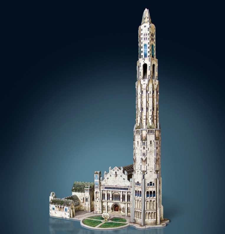 Citadel of Minas Tirith Fantasy 3D Puzzle