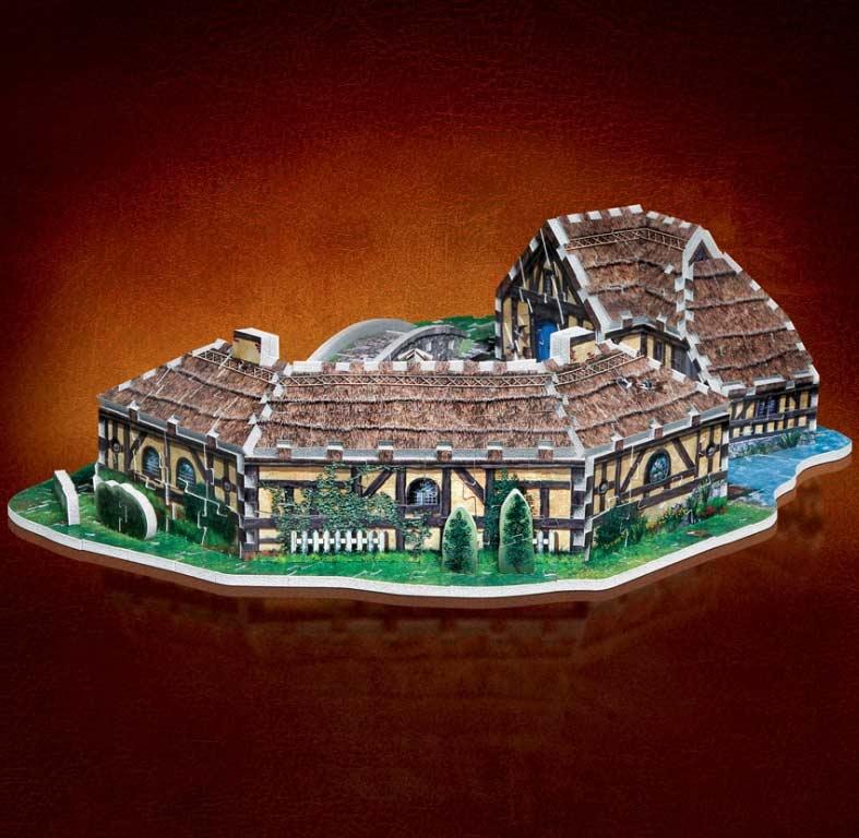 The Hobbit - Hobbiton Fantasy 3D Puzzle