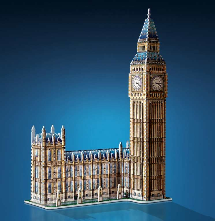 Big Ben - Scratch and Dent Landmarks / Monuments Jigsaw Puzzle