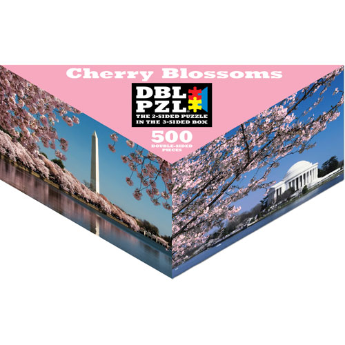 Cherry Blossoms Landmarks / Monuments Jigsaw Puzzle