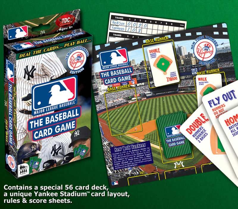 Baseball Card Game - Yankees Sports Card Game