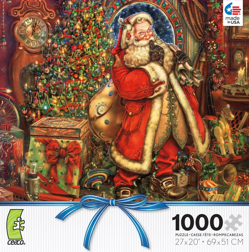 Yuletide Cheer - Myles Pinkney Christmas Jigsaw Puzzle