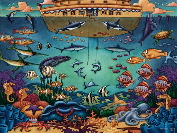 Dowdle - Under the Sea, 50 Marine Life Children's Puzzles