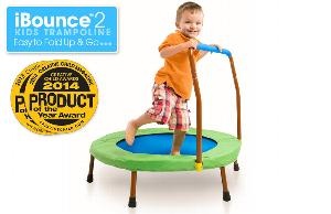 Round iBounce Kids Trampoline