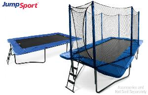 JumpSport Rectangular Trampoline 10 x 17ft