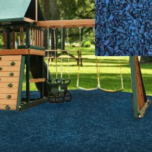 Kidwise Playground Recycled Rubber Mulch 75cu ft Pallet - Choose Color