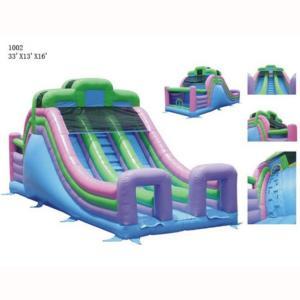 33' Double Lane Slide