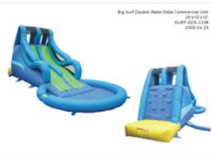 Big Surf Double Waterslide