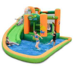 KidWise Endless Fun 11 In 1 Inflatable Bouncer And Waterslide