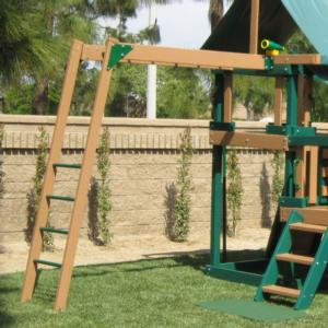 Congo Monkey Bars Extension - Green and Sand