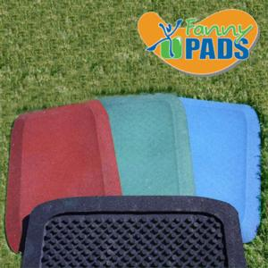 KidWise 1.5in Fanny Pads (Set of 2) - Choose Color