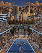 Boise State Broncos United States Jigsaw Puzzle