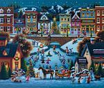 Hometown Christmas Christmas Jigsaw Puzzle