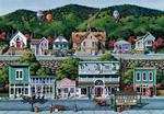 Park City Folk Art Jigsaw Puzzle