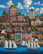 Quebec City Lakes / Rivers / Streams Jigsaw Puzzle