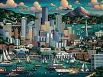 Seattle Lakes / Rivers / Streams Jigsaw Puzzle