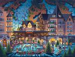 Vail Village Folk Art Jigsaw Puzzle