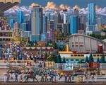 Calgary Folk Art Jigsaw Puzzle