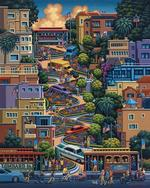 Lombard Street Cities Jigsaw Puzzle