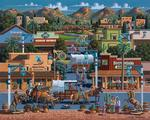 Scottsdale - Scratch and Dent Folk Art Jigsaw Puzzle
