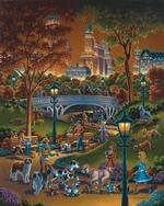 Dog Walkers New York Jigsaw Puzzle