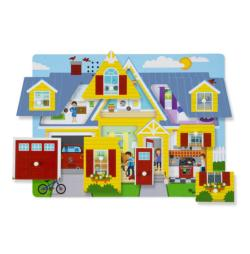 Around the House Cottage / Cabin Children's Puzzles